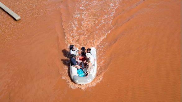 Las fuertes lluvias de la Dana ponen en alerta a siete comunidades