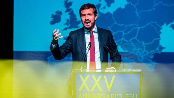 Casado pide a Sánchez que haga lo posible para que Puigdemont sea extraditado