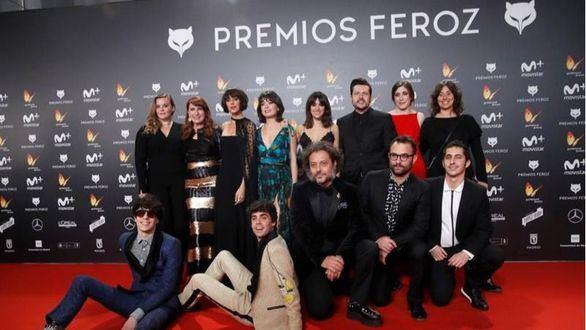 Una imagen de archivo de los Premios Feroz.