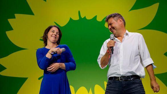 Annalena Baerbock y Robert Habeck, representantes de Los Verdes