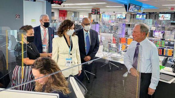 Bloomberg aplaude la gestión de Ayuso durante la pandemia