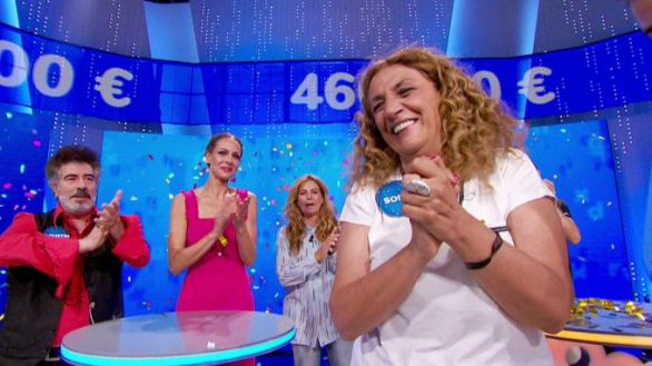 Sofía Álvarez resuelve el 'rosco' de Pasapalabra y gana el bote de 466.000 euros