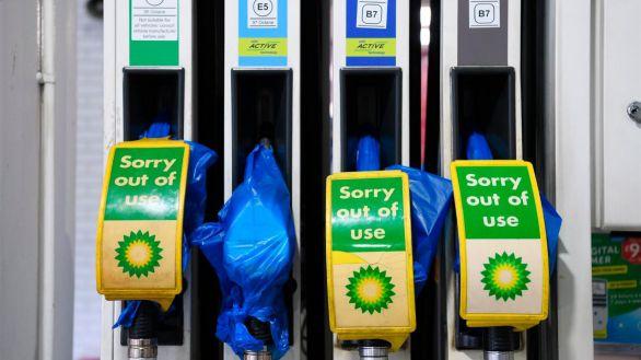La crisis de suministro seca las gasolineras en el Reino Unido