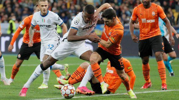 El Inter se mete en un lío ante el Shakhtar Donetsk   0-0
