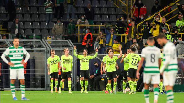 El Dortmund también gana sin Haaland  1-0