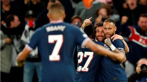 Messi remata la victoria del PSG ante el asedio del City  2-0