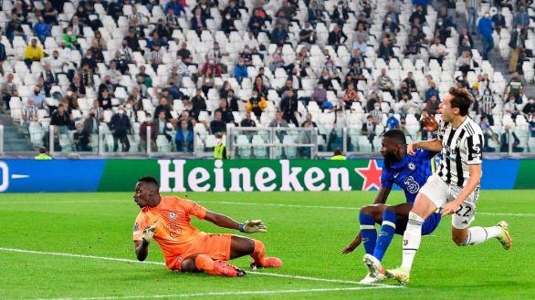 La Juventus enseña al Chelsea el poder de la eficacia   1-0