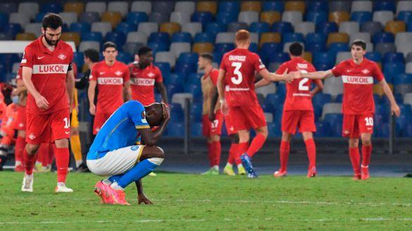 Liga Europa. El Nápoles sigue en caída libre mientras el Betis sigue con pleno