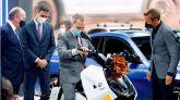 El Rey preside en Barcelona la inauguración del Salón del Automóvil