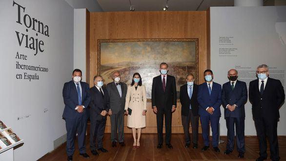 El Rey inaugura una exposición en el Prado sobre el arte iberoamericano