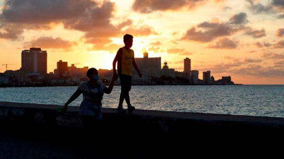 El humo del volcán de Palma llega a Cuba