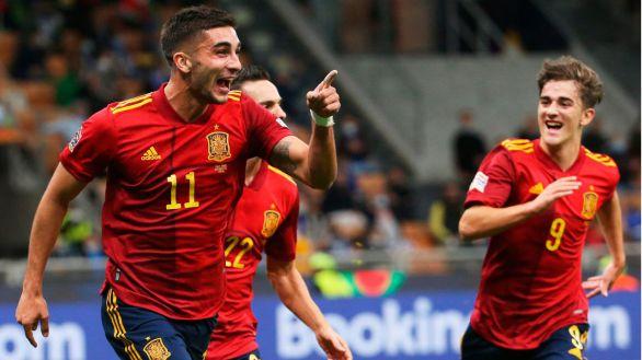 Lección de Luis Enrique para que España derrote a la invicta Italia  1-2