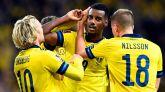 Dinamarca acaricia el pase e Isak mantiene el pulso de Suecia con España
