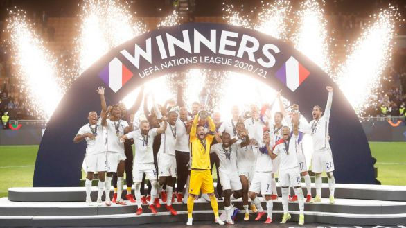 Francia arrebata a España la Liga de Naciones