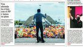 Las portadas de los diarios de este lunes 11 de octubre