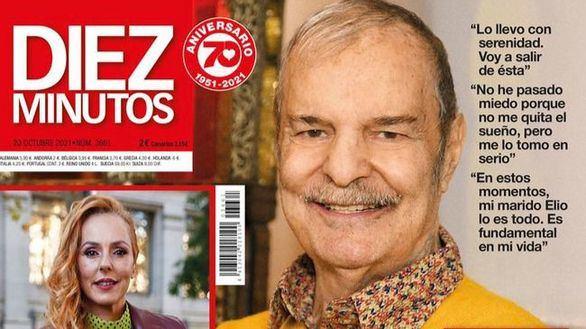 Jesús Mariñas desvela que tiene cáncer y Amelia Bono, fotografiada con su nuevo novio