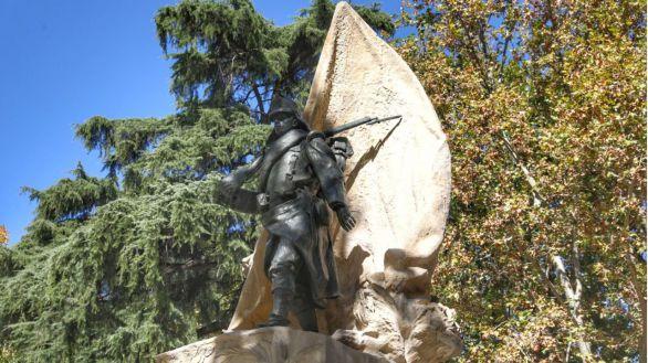 Madrid restaura el monumento al heroísmo y patriotismo del Cabo Noval