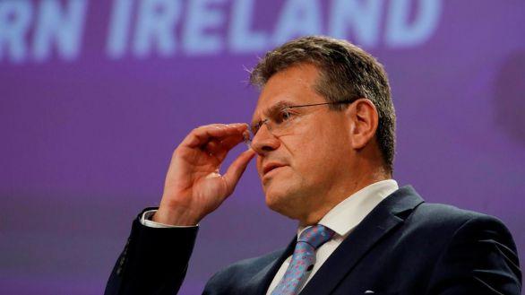 El vicepresidente de la Comisión Europea, Maros Sefcovi.