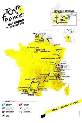Así será el Tour de 2022: adoquines, Alpe d'Huez y clásicos pirenaicos