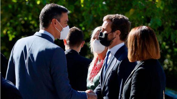 """Almeida: """"Si Sánchez quiere renovar el CGPJ, mañana, pero aceptando lo que exige la UE"""""""