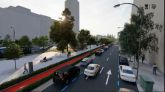 Un carril bici conectará Plaza de Castilla y Raimundo Fernández Villaverde