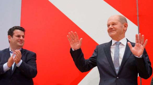Socialdemócratas, verdes y liberales alemanes alcanzan un acuerdo preliminar para formar gobierno
