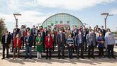 Foto de familia antes del 40 Congreso Federal del PSOE.