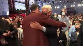 Tregua entre González y Sánchez en el Congreso del PSOE en Valencia