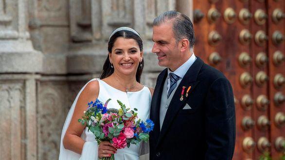 Ortega-Smith se casa en Toledo con una directiva mexicana