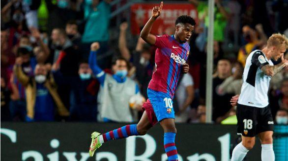 Ansu Fati revitaliza al Barcelona |3-1