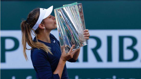 Paula Badosa, la nueva estrella del tenis español tras vencer en Indian Wells