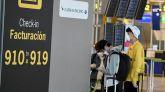 España recibió la mitad de pasajeros desde el extranjero que antes de la pandemia