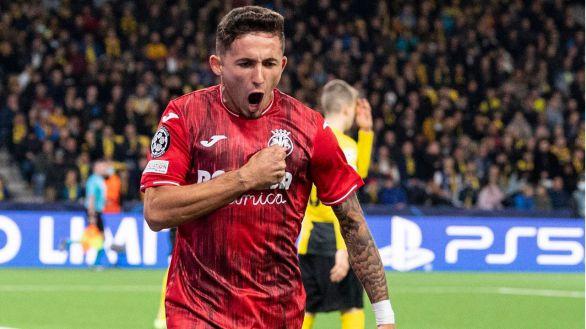 El Villarreal renace en Europa  1-4