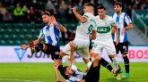 Elche y Espanyol se reparten puntos en un entretenido duelo  2-2