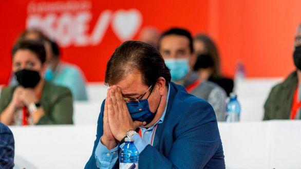 El PSOE, a la búlgara: Fernández Vara elegido con el 99% de los votos