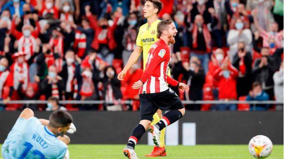 Un gran Muniain lidera el triunfo del Athletic ante el Villarreal |2-1