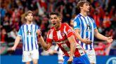 Un doblete de Suárez rescata un punto para el Atlético |2-2
