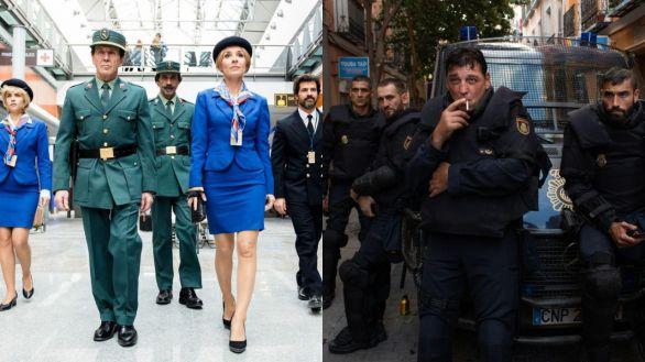 El Ministerio del Tiempo y Antidisturbios, ganadoras de los Premios Iris