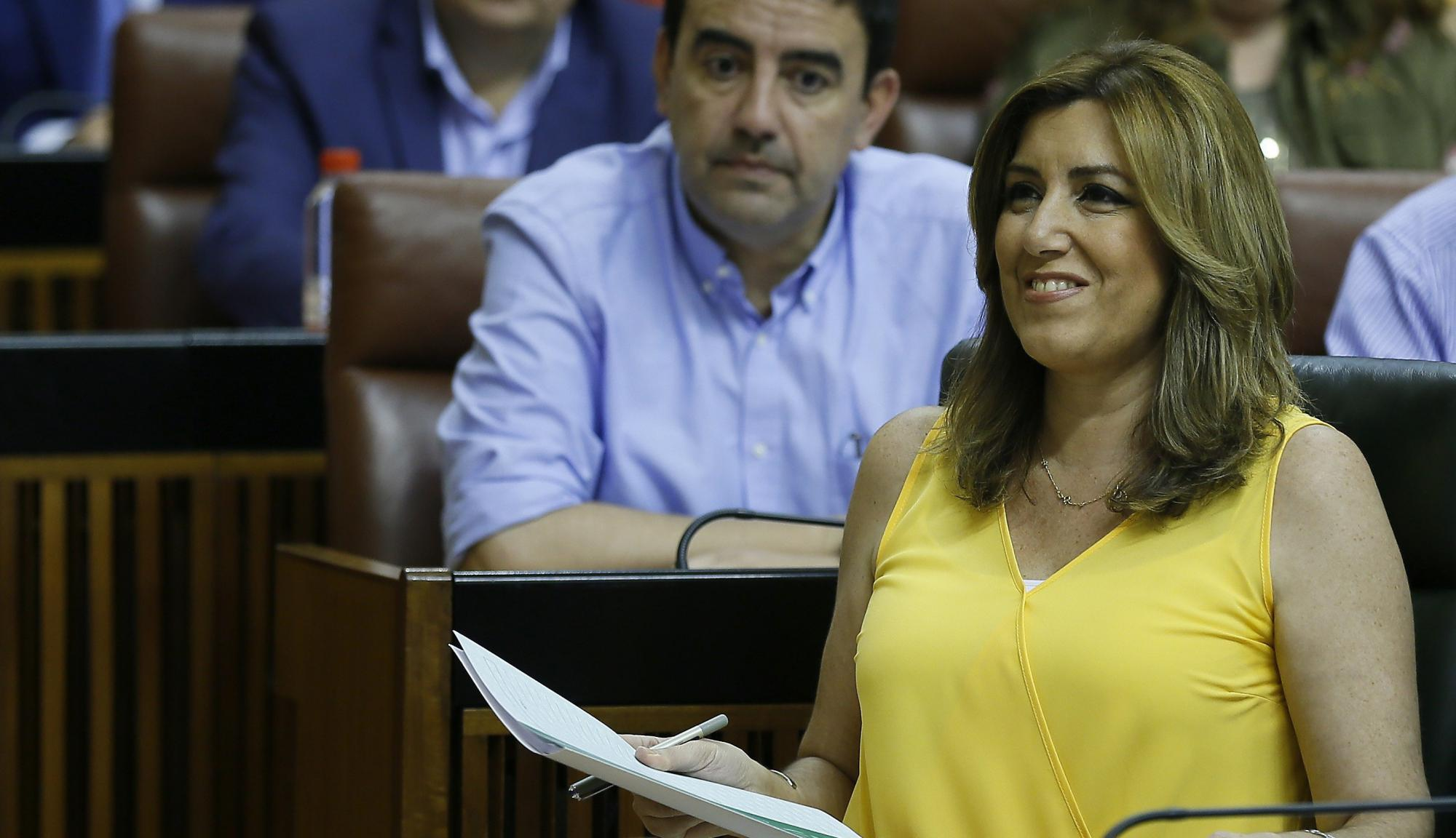 Crisis de gobierno en Andalucía: Díaz cambia a 5 de sus 12 consejeros