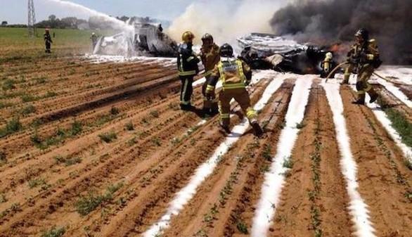 El fallo en tres de sus cuatro motores provocó el accidente del A400M en Sevilla