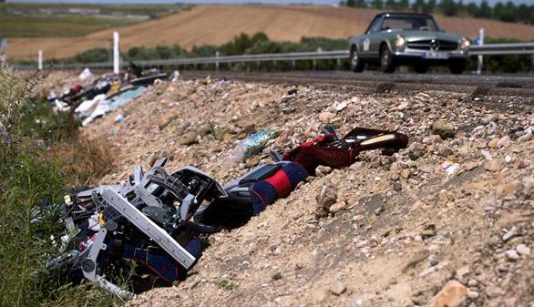 Dos muertos y 49 heridos en un accidente de autobús en Córdoba