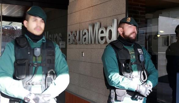 Trece detenidos por un supuesto fraude cometido por la empresa Acuamed