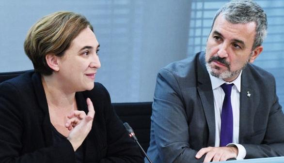 Colau rompe su pacto con el PSC en el Ayuntamiento de Barcelona