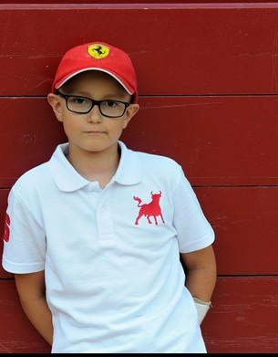 Adrián Hinojosa en una foto del perfil de Twitter de su padre