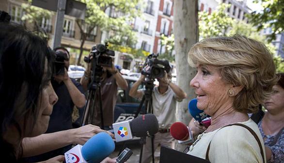 Esperanza Aguirre propone un gobierno de concentración