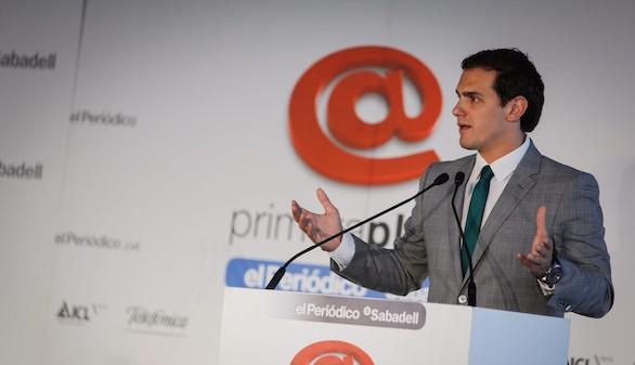 Rivera despeja la incógnita: 'no' a Rajoy por activa y por pasiva