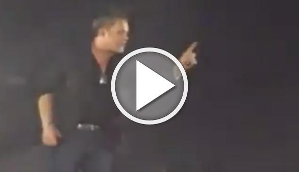 Alejandro Sanz se encara con un maltratador en mitad de un concierto