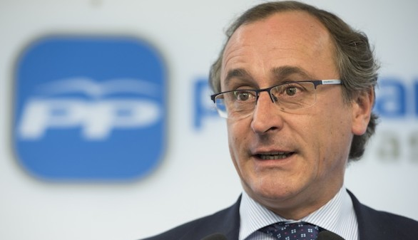 Alfonso Alonso será el candidato del PP a lehendakari