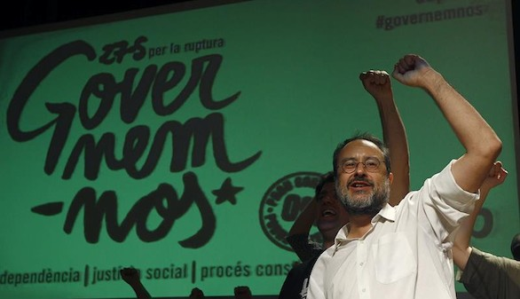 La CUP descarta una declaración de independencia y veta a Mas para presidir la Generalidad