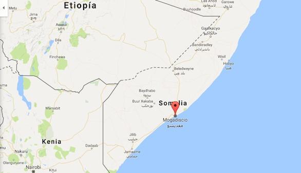 Trece muertos en un doble atentado en Mogadiscio